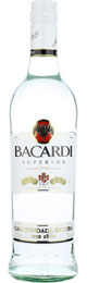 Bacardi Superior 1ltr title=