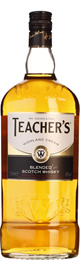 Teacher's Whiskey 1ltr title=
