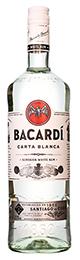 Bacardi Carta Blanca 1ltr title=